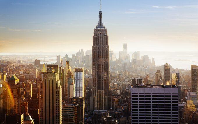 Empire State Building New York City Desktop Wallpapers
