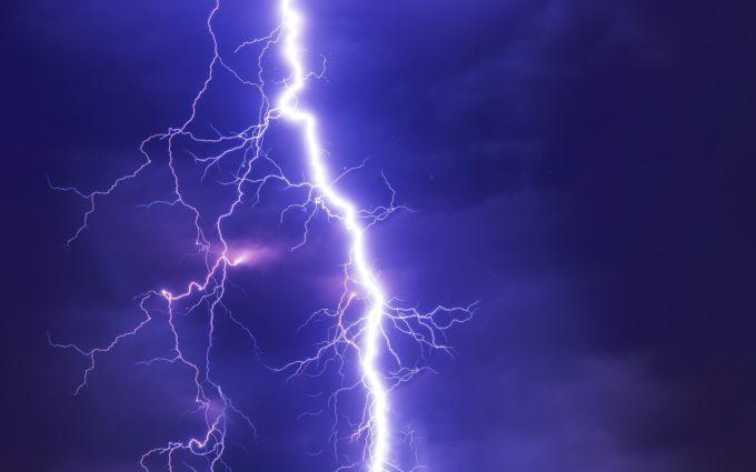 Flash Thunderstorm Desktop Wallpaper