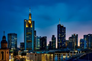 Frankfurt Germany City Urban Skyline Desktop Wallpapers