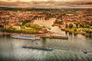 Koblenz German Corner Landscape Desktop Wallpapers