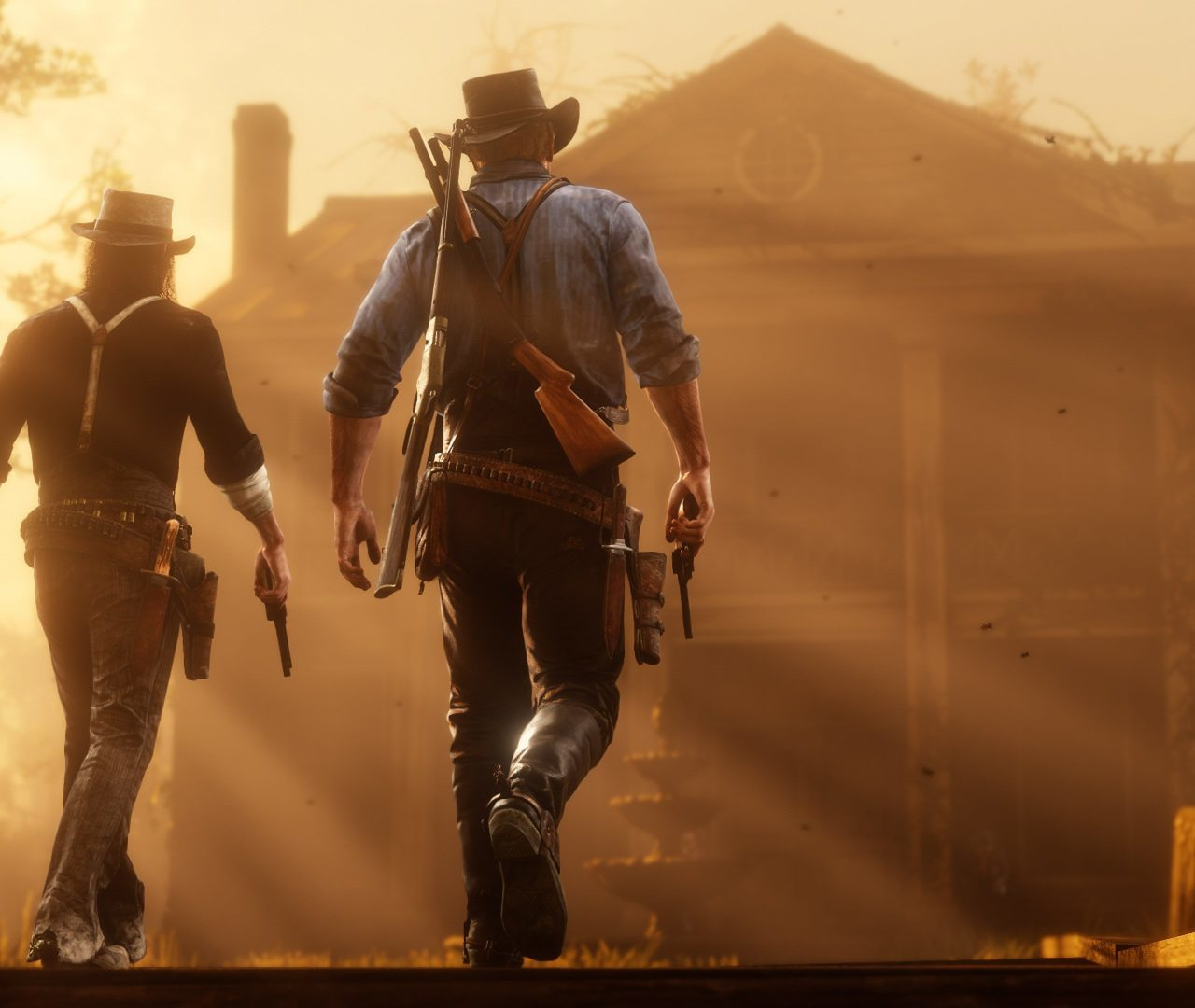 Red Dead Redemption 2 Desktop Wallpapers 8