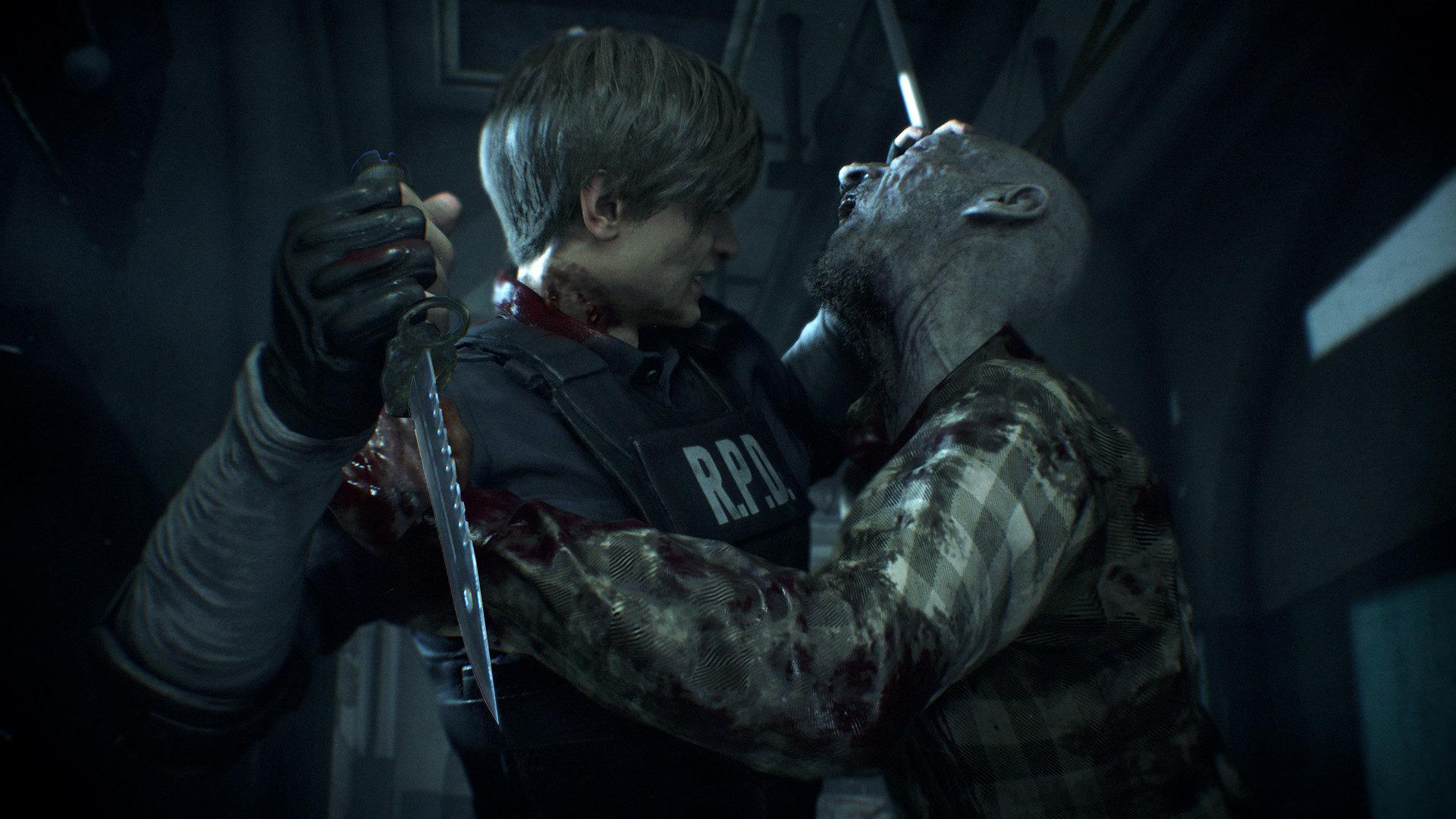 Resident Evil 2 Desktop Wallpapers 3 Computer Background Images