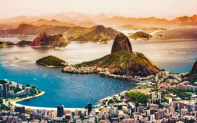 Rio De Janeiro Brazil City Urban Desktop Wallpapers