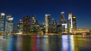 Singapore River Skyline Building Water Desktop Wallpapers