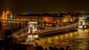 Szechenyi Chain Bridge Suspension Bridge Landmark Desktop Wallpapers