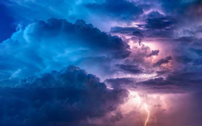 Thunderstorm Desktop Background