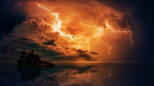 Thunderstorm Desktop Wallpaper
