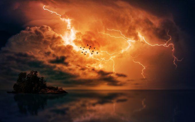 Thunderstorm Desktop Wallpaper