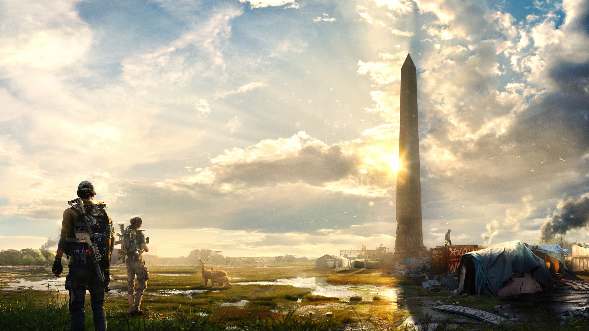 Tom Clancy's The Division 2 Desktop Wallpapers 2 ...