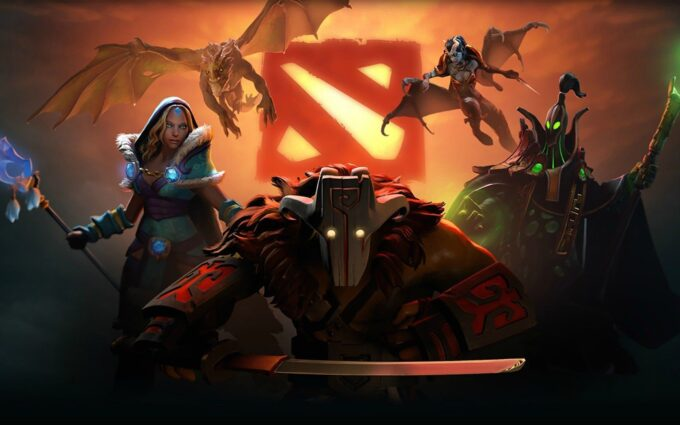 Dota 2 Background Wallpaper 2