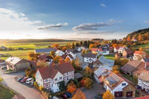 Aerial View Architecture Autumn Cars Desktop Wallpapers