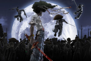 Afro Samurai 9 Desktop Background Wallpapers