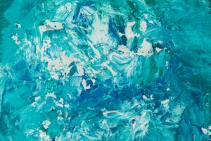 Blue And White Abstract Painting Desktop Wallpapers