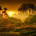 Light Sea Dawn Landscape Desktop Wallpapers