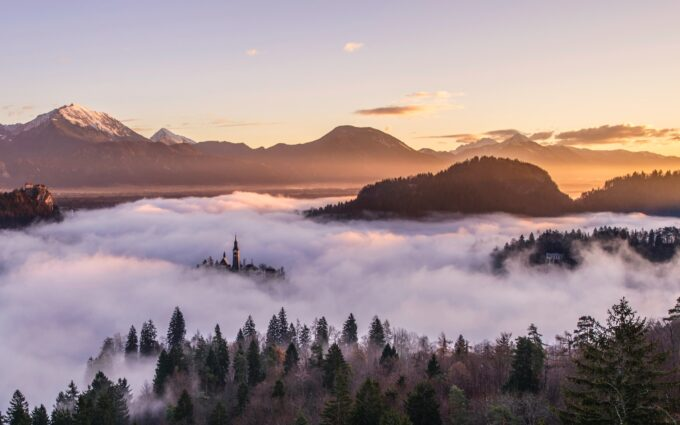 Mist Misty Fog Foggy Desktop Wallpapers