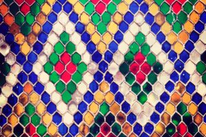 Multicolored Mosaic Photo Desktop Wallpapers