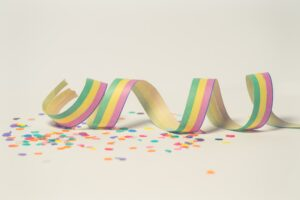 Pink Green And Yellow Ribbon Illustration Desktop Wallpapers
