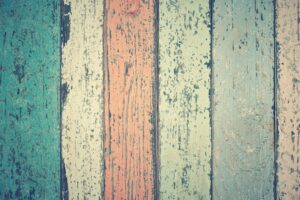 White Green And Orange Wooden Plank Desktop Wallpapers