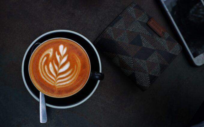 Cappuccino in Mug Desktop Wallpapers