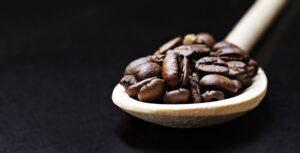Coffee Beans on Brown Ladle Desktop Wallpapers