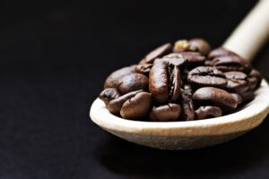Coffee Beans on Brown Ladle Desktop Wallpapers
