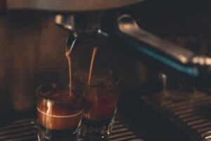 Two Cups Under Espresso Maker Desktop Wallpapers